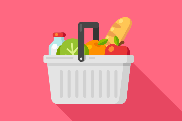 Grocery Basket for Personal Health