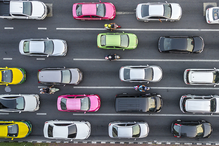 the relationship between bandwidth and speed is like cars on a highway