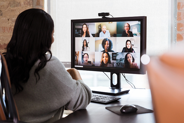 Video Conference for Remote Work