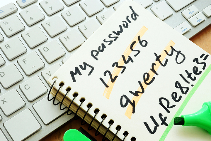 Protect your WiFi network with a password