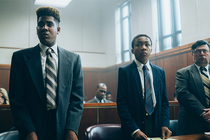 When They See Us streaming on Netflix