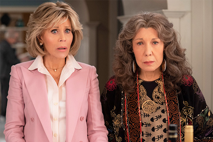 Grace And Frankie streaming on Netflix